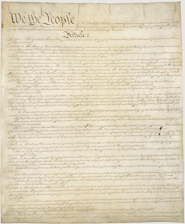 United Stated Constitution